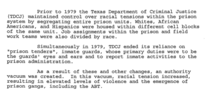 How the Texas prison system created a terror group: FBI files on the