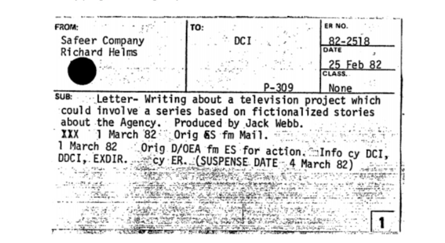 CIA considered working with the creator of